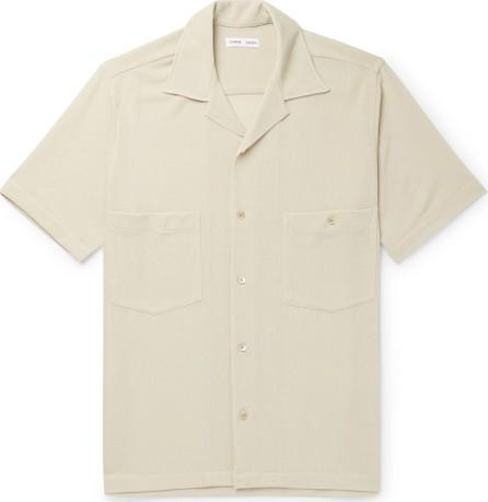 Cmmn Swdn Dexter Camp-Collar Tencel-Blend Mesh Shirt