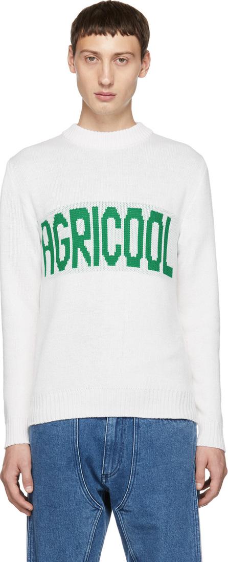 Anton Belinskiy White 'Agricool' Sweater