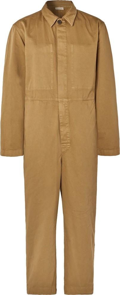 Dries Van Noten Cotton-Twill Boiler Suit