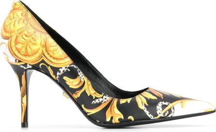 Versace Baroque-print pumps