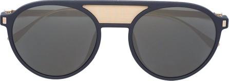 Mykita Damson double bridge round sunglasses