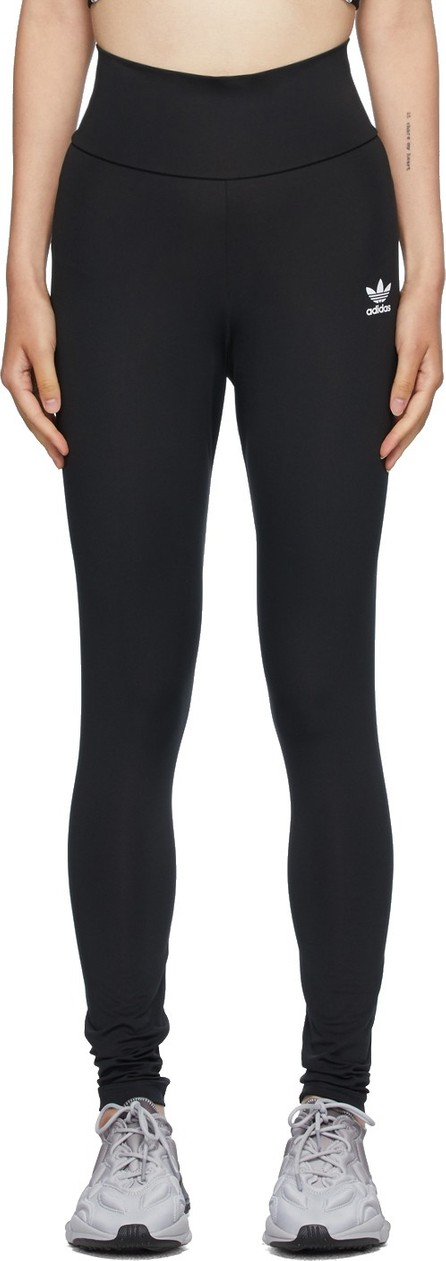 Adidas Originals Black High-Waisted Leggings