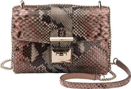 Jimmy Choo Marianne Genuine Python Crossbody Bag