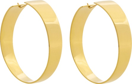 Fay Andrada Levea MD brass earrings