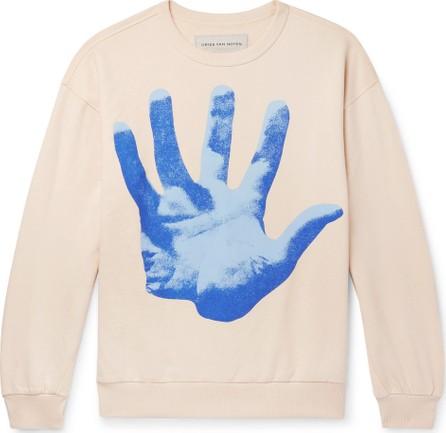 Dries Van Noten Oversized Printed Loopback Cotton-Jersey Sweatshirt