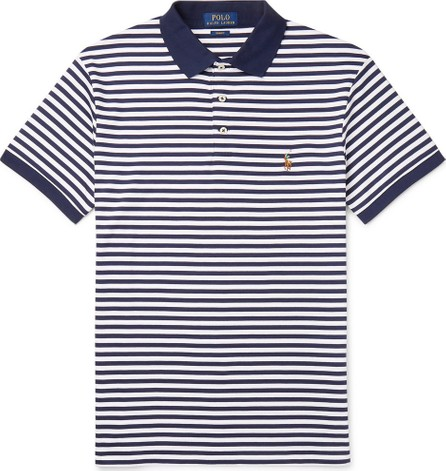 Polo Ralph Lauren Slim-Fit Striped Cotton-Jersey Polo Shirt