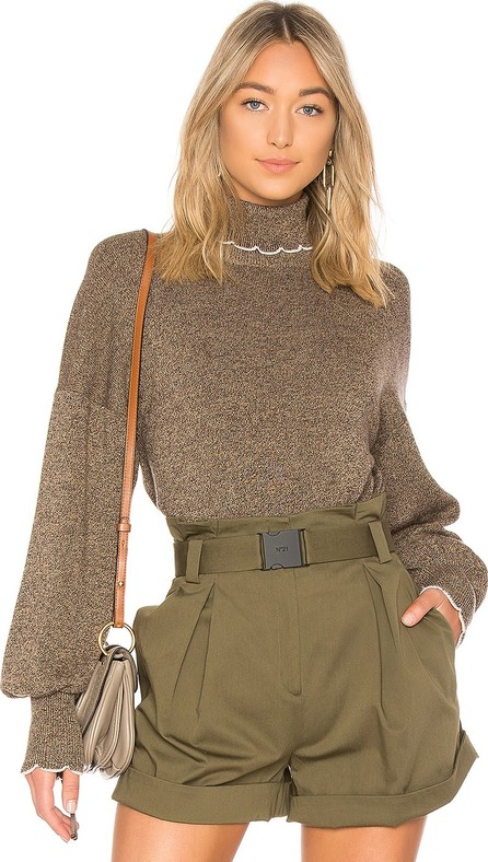 See By Chloé Turtleneck Trim Sweater