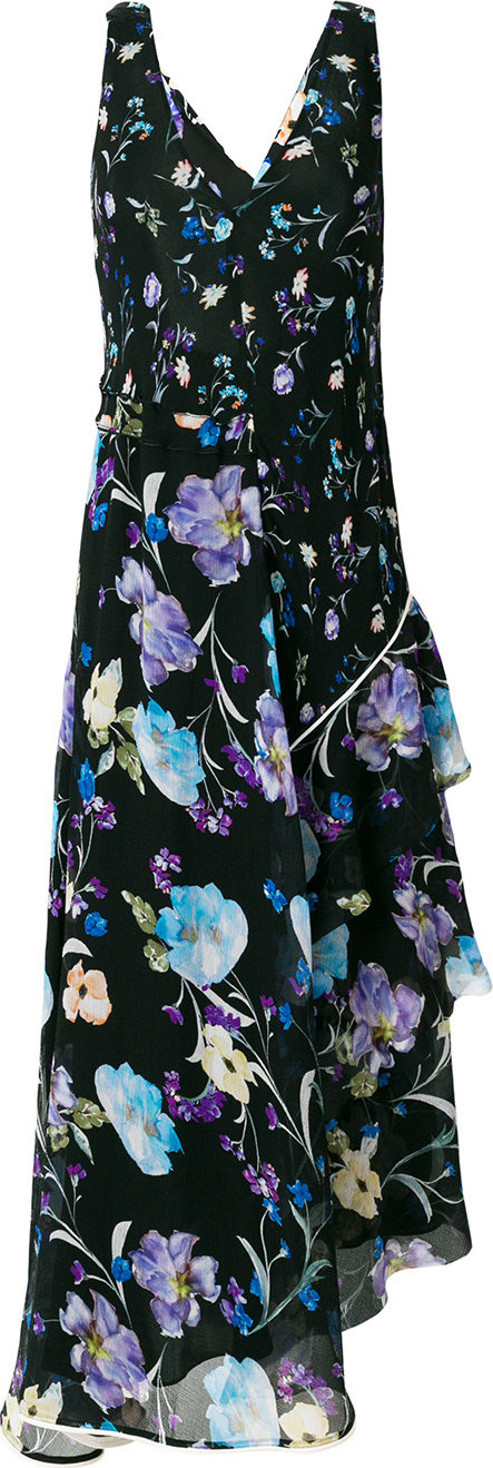 3.1 Phillip Lim Floral flared shift dress