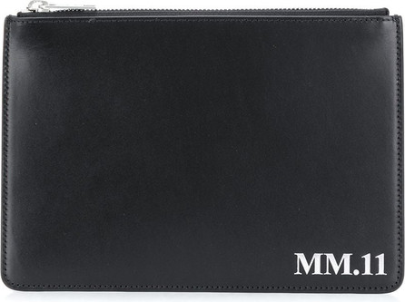Maison Margiela MM.11 four-stitch clutch