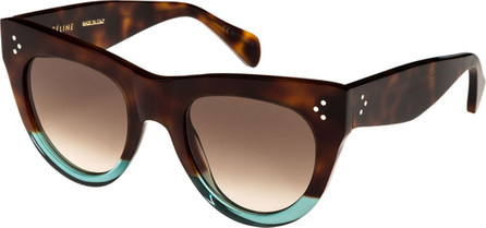 Celine Acetate Cat-Eye Sunglasses