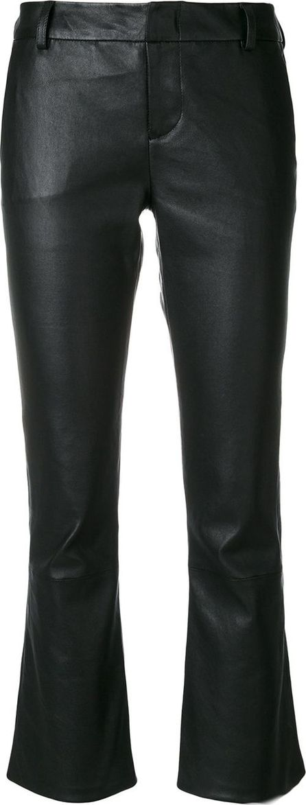 Federica Tosi cropped flared trousers