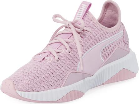PUMA Defy Varsity Knit Platform Sneakers