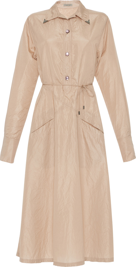 Bottega Veneta Washed Taffeta Dress