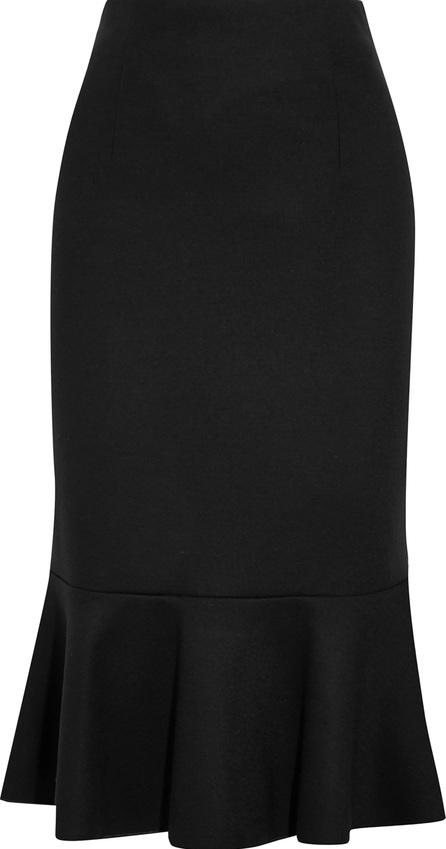 Max Mara Fluted wool skirt