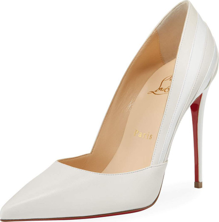 Christian Louboutin Super Point-Toe Red Sole Pump