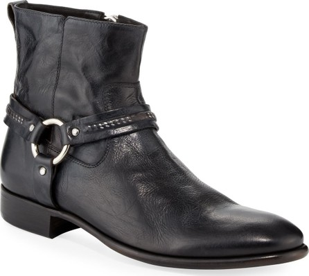 John Varvatos Eldridge Leather Harness Boot