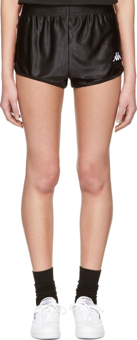 Gosha Rubchinskiy Black Kappa Edition Sport Shorts