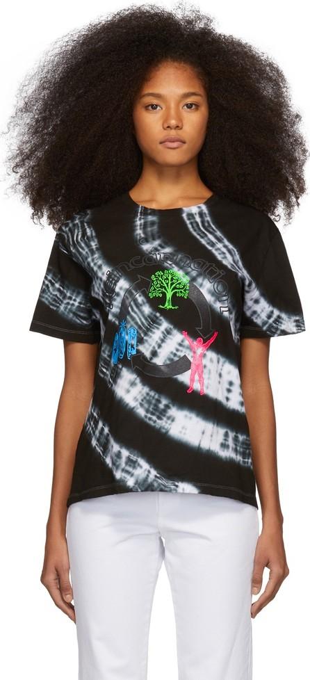 Ashley Williams Black & White Tie-Dye 'Reincarnation' T-Shirt