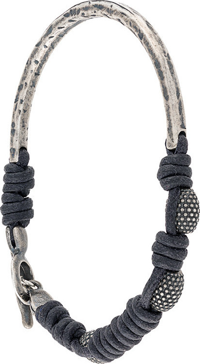 Andrea D'amico Twisted round bracelet