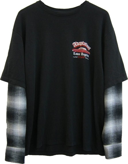 Adaptation Flannel sleeved t-shirt