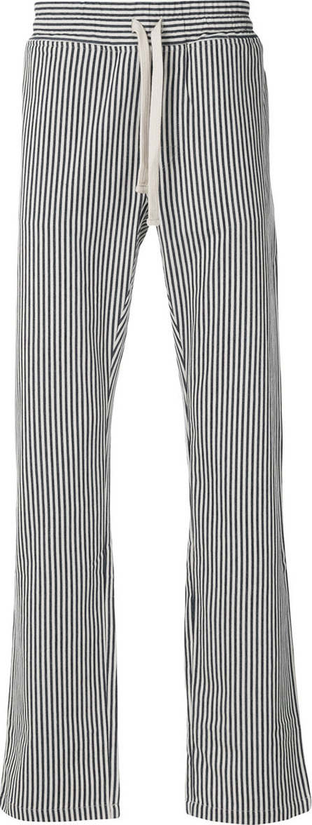 Doppiaa Striped straight leg trousers