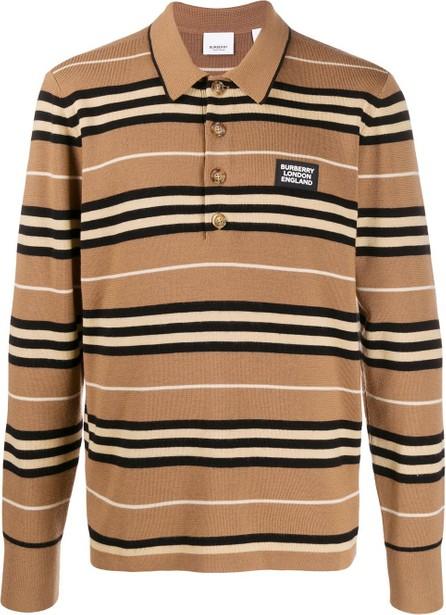 Burberry London England Striped polo shirt