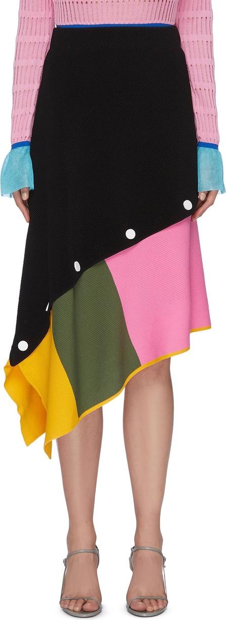 i-am-chen Asymmetric Detachable Midi Skirt