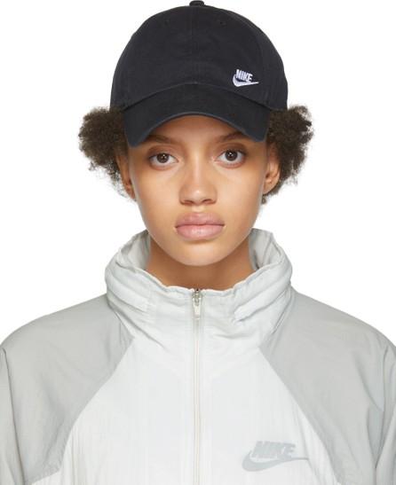 Nike Black Sportswear Heritage 86 Futura Cap