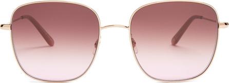 GARRETT LEIGHT Tuscany 55 square-frame sunglasses