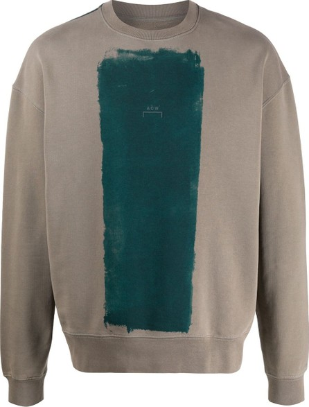A-Cold-Wall* Paint roller-print crew neck sweatshirt