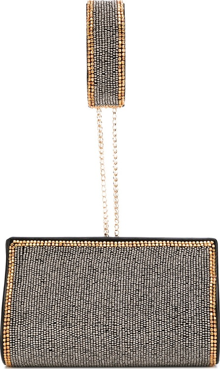 Alberta Ferretti studded clutch bag