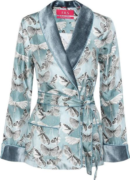 For Restless Sleepers Armonia printed silk jacket