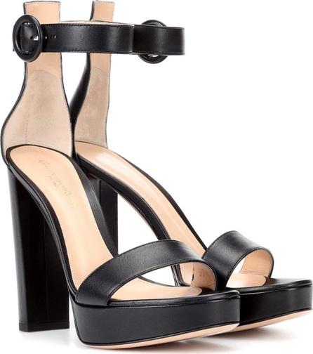 Gianvito Rossi Exclusive to mytheresa.com – Portofino plateau leather sandals