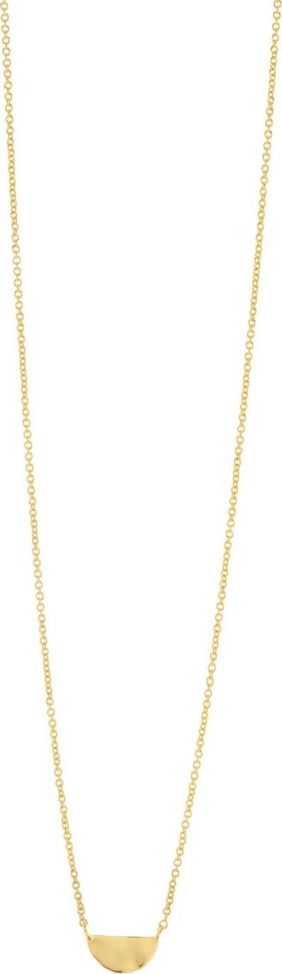 Gorjana Luca Semicircle Charm Necklace