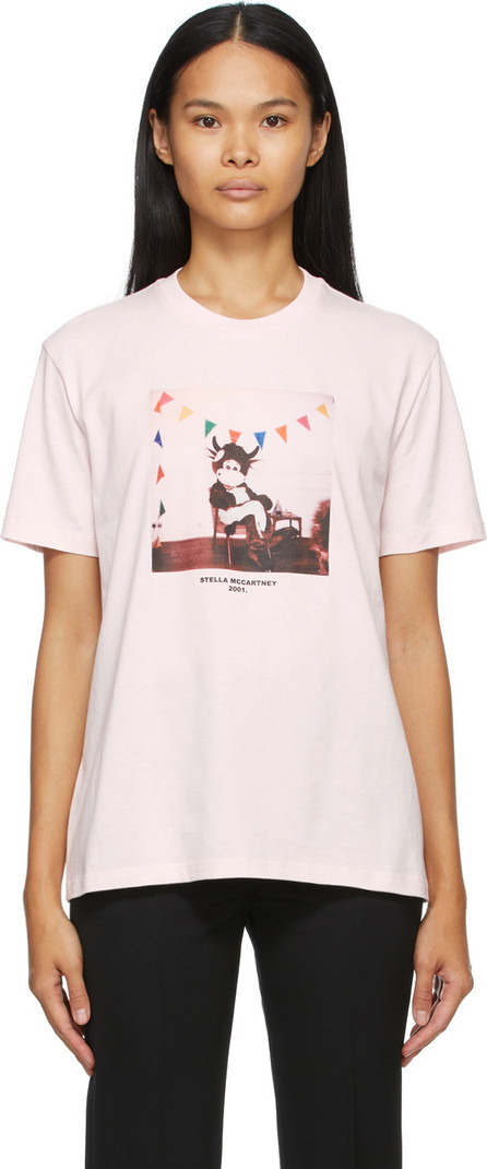 Stella McCartney Pink 'Year Of The Ox' T-Shirt