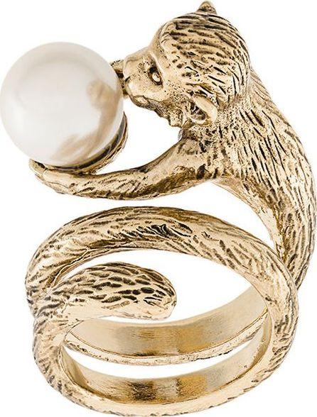 Alberta Ferretti Monkey ring