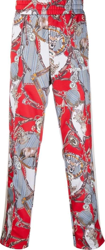 Palm Angels Chain print track pants