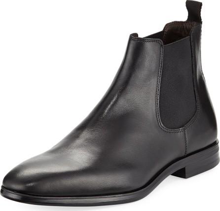 A. Testoni Leather Chelsea Boot