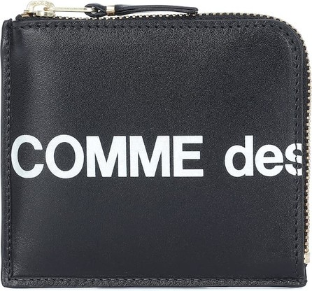 Comme des Garçons Wallets Huge Logo Small leather wallet