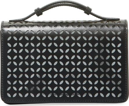 Alaïa Petal Cutout Clutch Bag with Handle