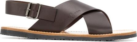 Car Shoe Cross-over strap sandals