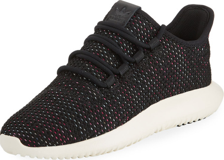 Adidas Tubular Shadow Knit Trainer Sneakers, Black