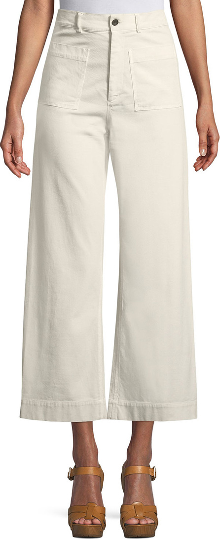 A.L.C. Flynn Wide-Leg Cropped Pants