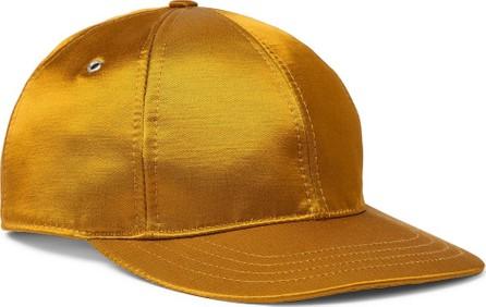 AMI Logo-Appliquéd Satin-Twill Baseball Cap