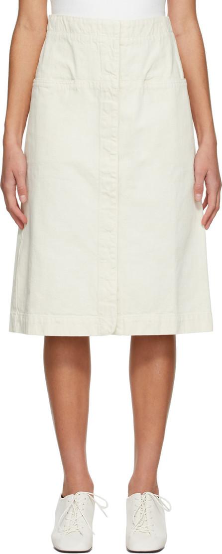 Lemaire Off-White Straight Skirt