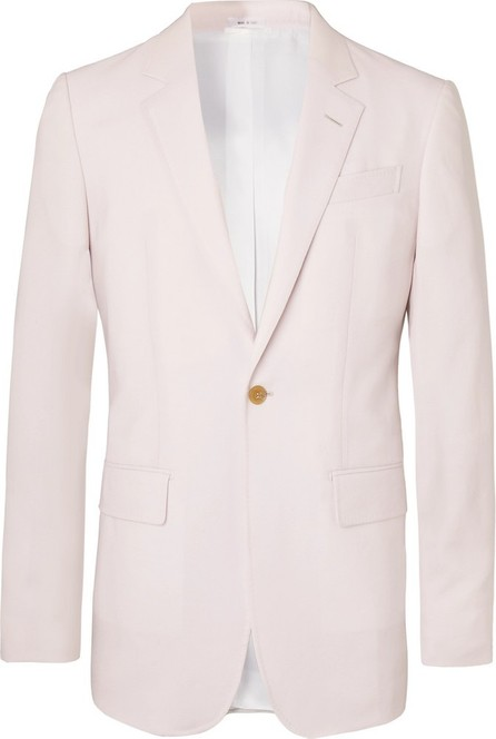 Gabriela Hearst Off-White Damien Slim-Fit Wool Suit Jacket
