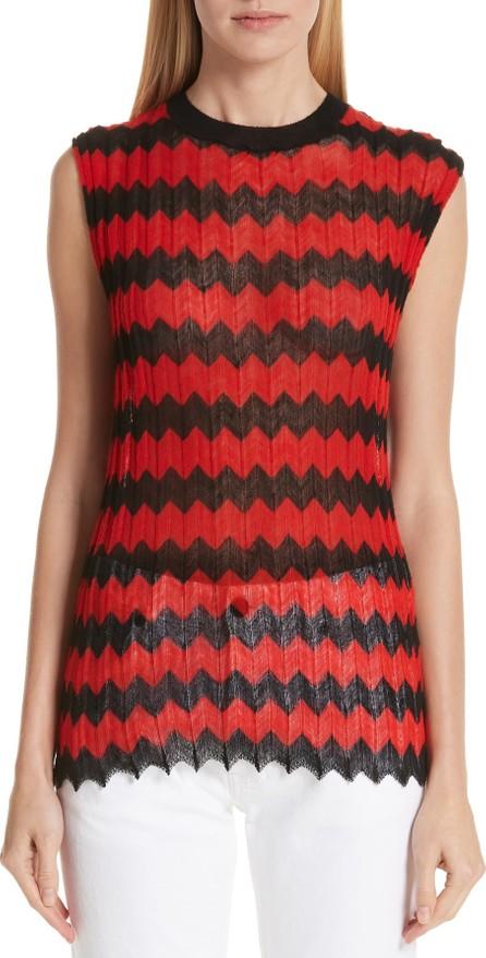 Calvin Klein 205W39NYC Chevron Stripe Wool Tank Top