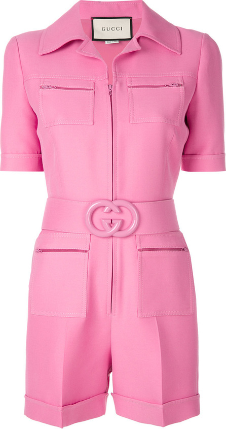 Gucci Short belted playsuit