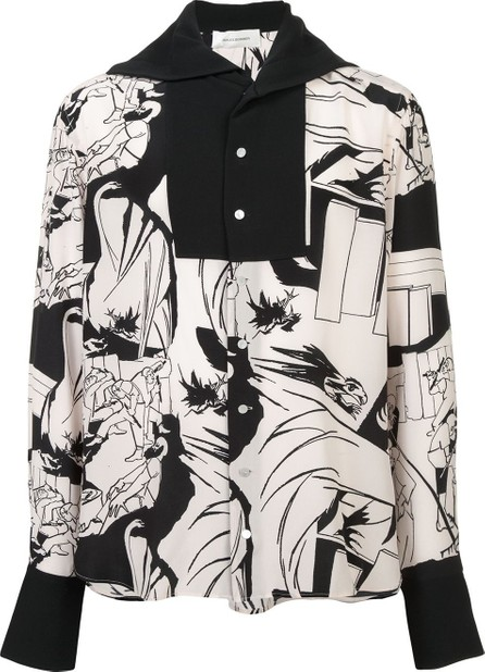 Wales Bonner illustration print shirt