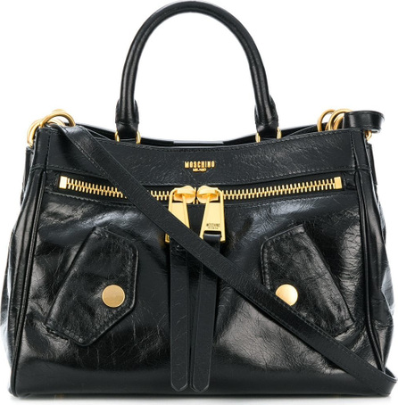 Moschino Flap pocket tote